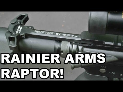 Rainier Arms/AXTS Raptor! Ambi AR15 Charging Handle