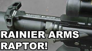 Rainier Arms/AXTS Raptor! Ambi AR15 Charging Handle