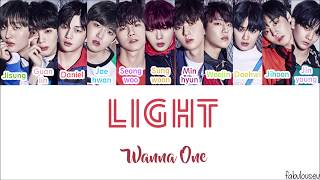 Wanna One - Light [Lyrics Han | Rom | Indo] Lirik Terjemahan Indonesia