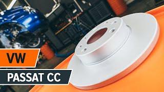 Pamoka: Kaip pakeisti Galiniai stabdžių diskai, Galinių stabdžių kaladėlės VW PASSAT CC 1