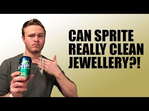 Can SPRITE Really Clean Jewellery?!?!