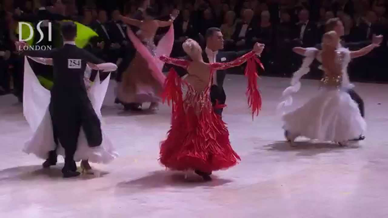 81ffd1b79707 Professional Ballroom - Blackpool Dance Festival 2015 - YouTube