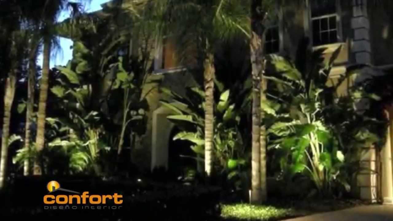Mega dise o iluminaci n de jard n youtube - Iluminacion de jardin ...