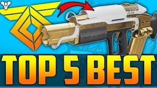 Destiny 2 - Top 5 BEST & OP Warmind DLC Weapons For PvP / Crucible - WARMIND DLC (NON EXOTICS)