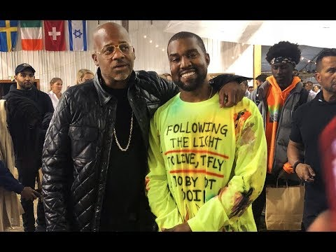 Kanye West Invites Dame Dash To Wyoming for His Album Listening Party