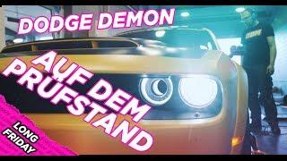 Dodge Demon auf dem Prüfstand! Long Friday 2019 - Hellobbm