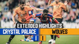 Late Diogo drama Crystal Palace 1-1 Wolves  Extended Highlights