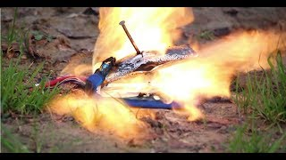 BATTERY EXPLODE!!! and clash of clans uppdate