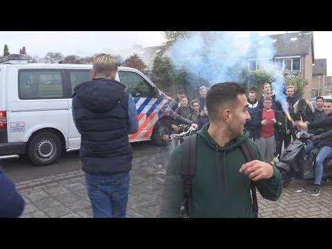 Vuurwerk afsteken in Eindhoven #5