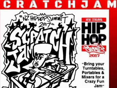 NZ HIP HOP SUMMIT 2017 promo AD