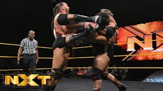 Heavy Machinery vs. Riddick Moss & Tino Sabbatelli: WWE NXT, April 25, 2018
