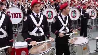 Ohio State University Marching Band Drumline Highlights