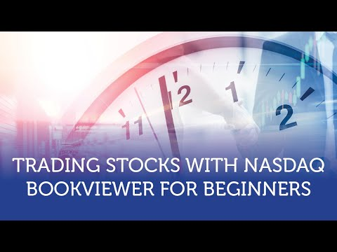 Trading Stocks with Nasdaq BookViewer Part 3