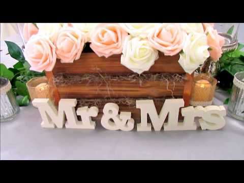 Rustic Wedding ~ On a Budget