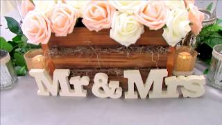 Rustic Wedding ~ On a Budget | Rustic Wedding DIY & Indoor Reception