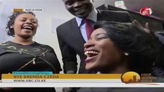 Good Morning Kenya team farewell to Brenda Czeda as she Leaves KBC
