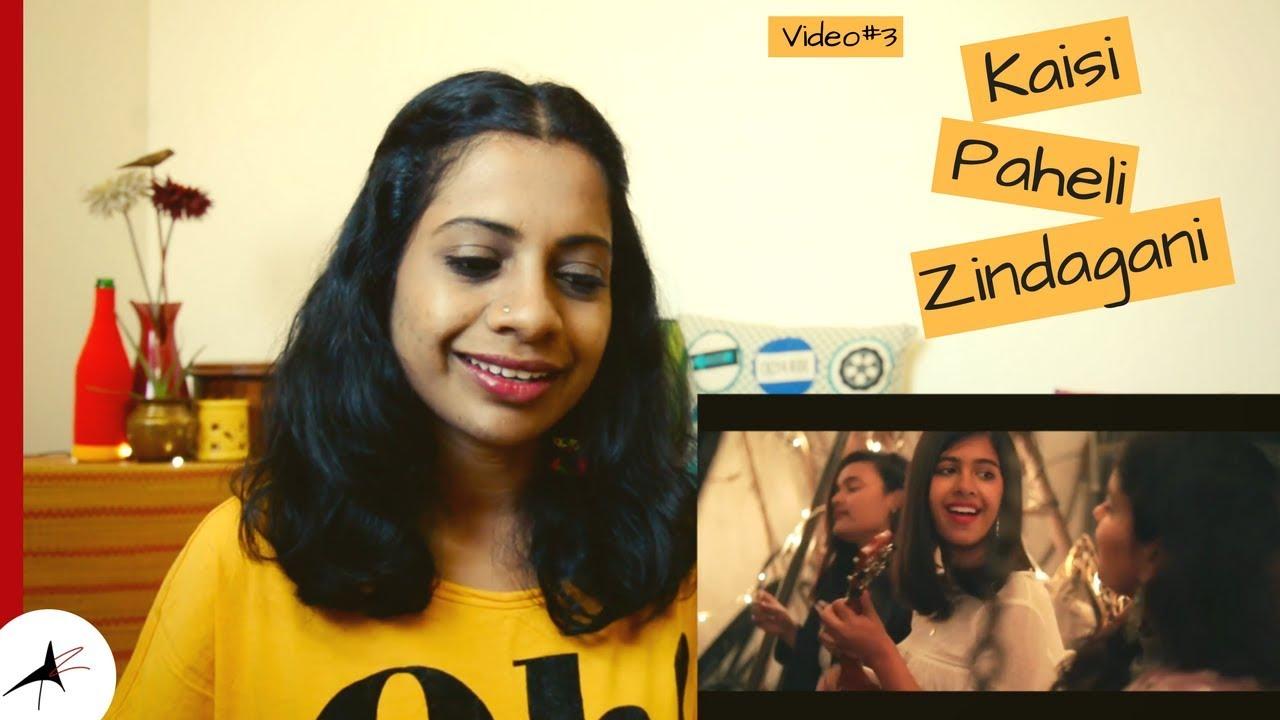 Sejal Kumar Kaisi Paheli Zindagani Cover Reaction Video#3 | Arpitharai