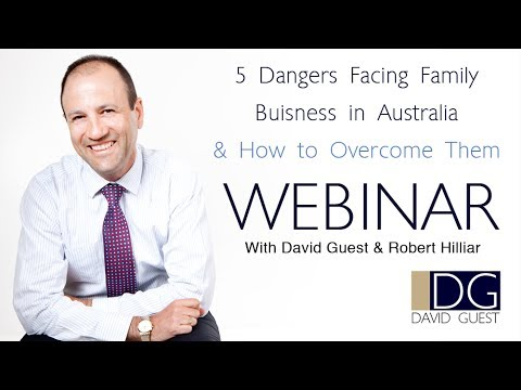 5 Dangers Facing Family Businesses in Australia and How to Overcome Them