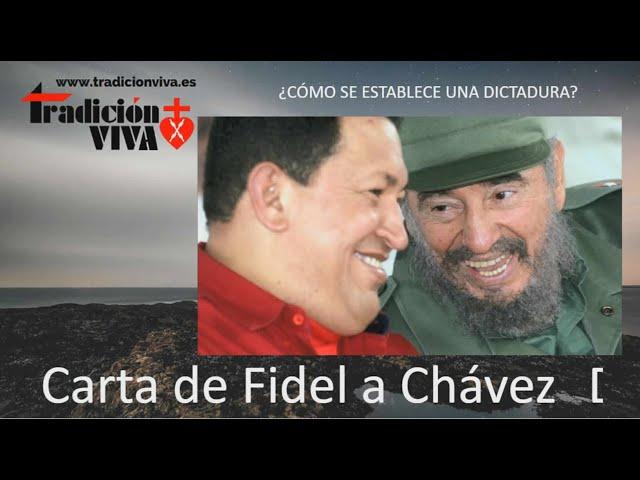 Carta de Fidel a Chávez, descubre la realidad del #Comunismo