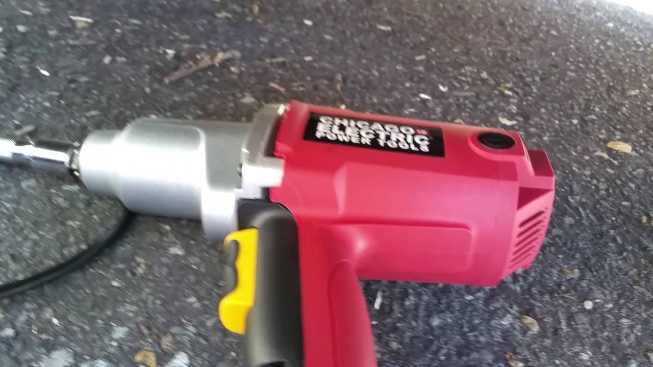 Harbor Freight Tool Review Chicago Electric 1 2 Impact Gun