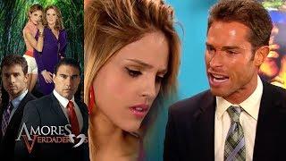 Amores Verdaderos: ¡Nikki inventa que Guzmán la embarazó! | Escena - C25 | Tlnovelas
