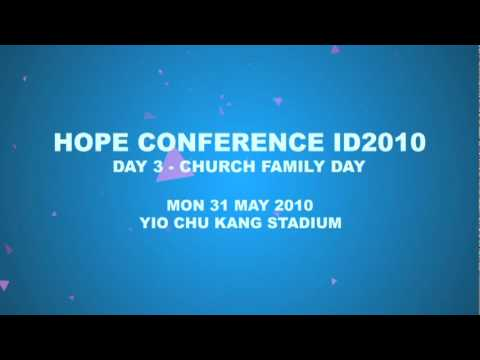 Hope Conference ID2010 - Publicity 2