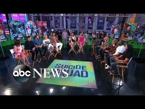 Suicide Squad Cast Plays 'Secrets Behind the Squad'