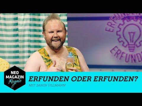 Erfunden oder erfunden? mit Janin Ullmann   NEO MAGAZIN ROYALE mit Jan Böhmermann - ZDFneo