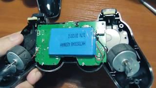 Ремонт китайского геймпада PS3 DualShock