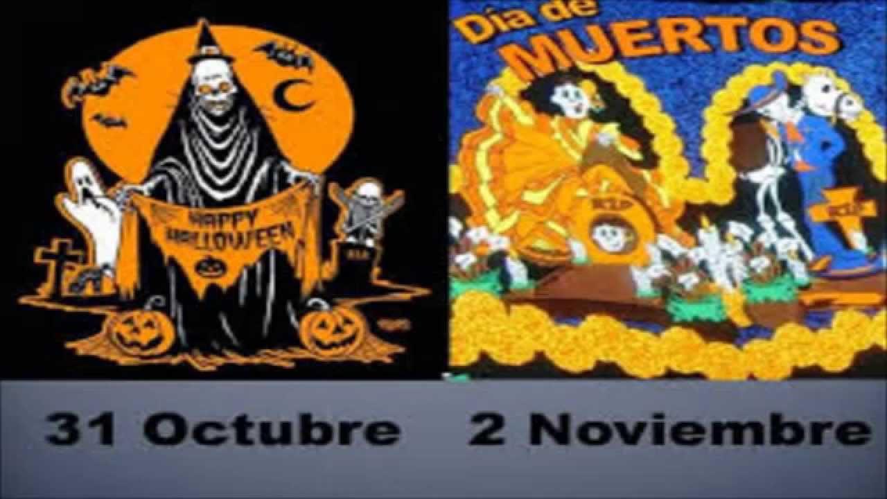 diferencias entre da de muertos y halloween youtube - Halloween Dia