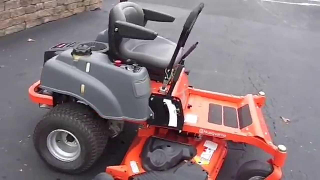 Husqvarna Z254 Zero Turn Lawn Mower 54 Deck 24 hp