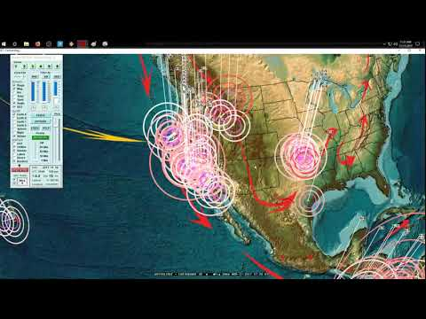 11/17/2017 -- Southern California Earthquake -- M4.1 strikes Gulf / Baja -- South American impact
