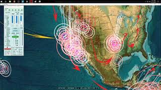 11/17/2017 -- Southern California Earthquake -- M4.1 strikes Gulf / Baja -- South American impact