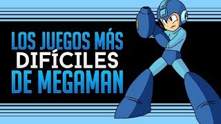 Los 5 juegos más difíciles de Mega Man (Termina Jocoso)