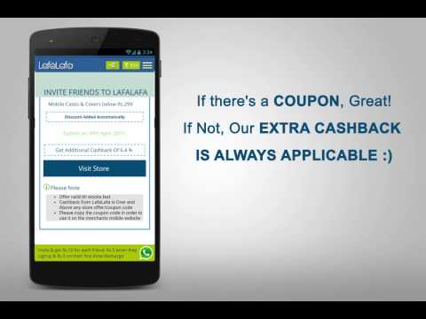LafaLafa App - Get Cashback on your online shopping