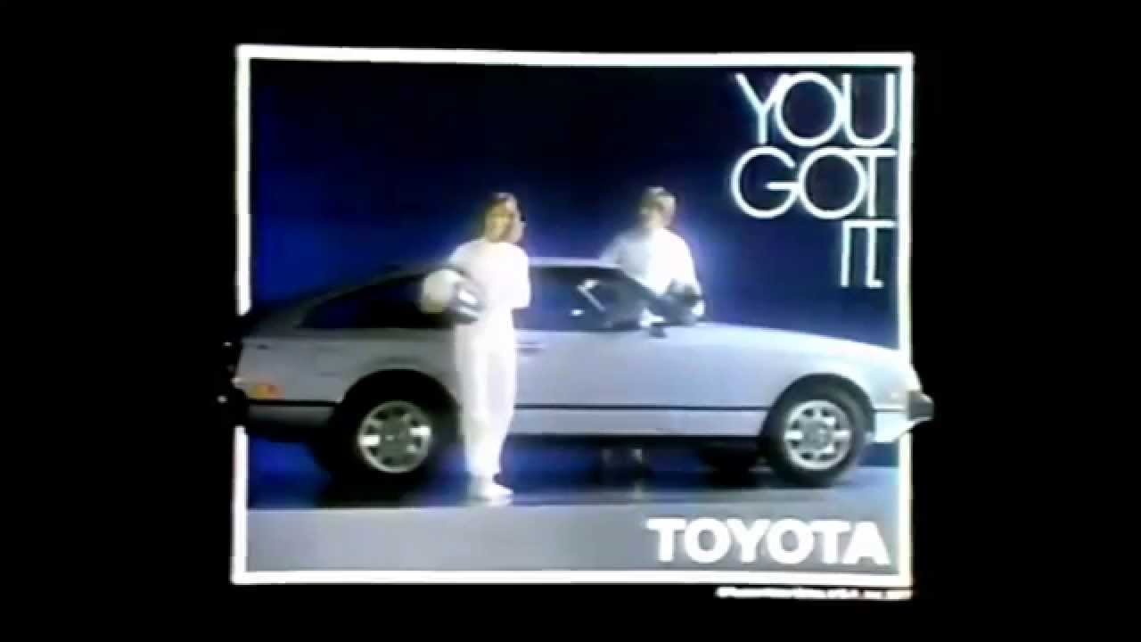 2015 Toyota Celica >> Toyota Celica 'Car Of The 80s' Commercial (1978) - YouTube