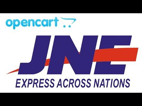Video 11 Membuat Toko Online Sendiri dari Opencart - Setting JNE Shipping Indonesia