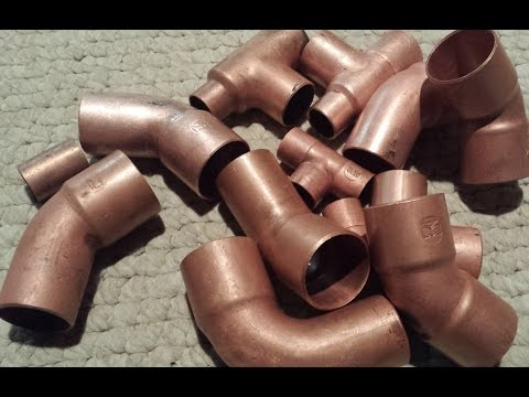Easiest way to clean copper or brass!