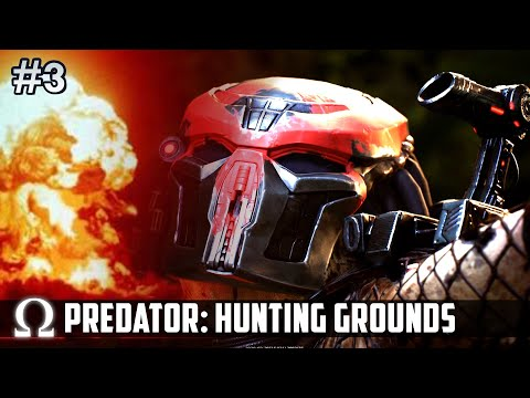 THE PREDATOR GOES OUT WITH A BANG! 🔥 | Predator Hunting Grounds Beta Trial Gameplay #3