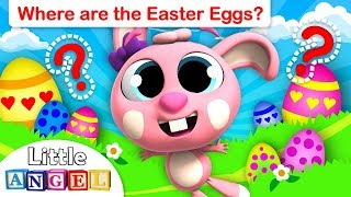 Easter Bunny Special | Can you Find the Easter Eggs? | Where is my Tail? | Little Angel