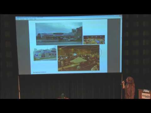 Miriam van der Lubbe @ De Balie 'Design conferentie het Wonder van Eindhoven' 16-02-2013