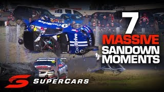 FLASHBACK: 7 adrenaline fueled moments from Sandown | Supercars Championship 2019