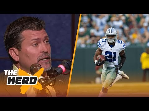 Mark Schlereth on Ezekiel Elliott suspension, Chicago Bears quarterback spot in 2017 | THE HERD