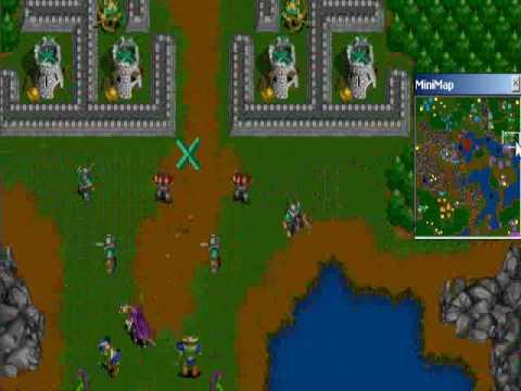 Warcraft 2 Map Youtube