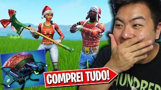 THE CHRISTMAS SKINS CAME BACK AND I BOUGHT EVERYTHING!! -Fortnite Battle Royale