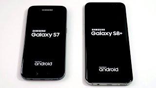 Samsung Galaxy S7 vs Samsung Galaxy S8 Plus!