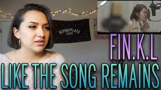 "Fin.K.L (핑클) - ""Like the song remains(남아있는 노래처럼)"" MV Reactio…"