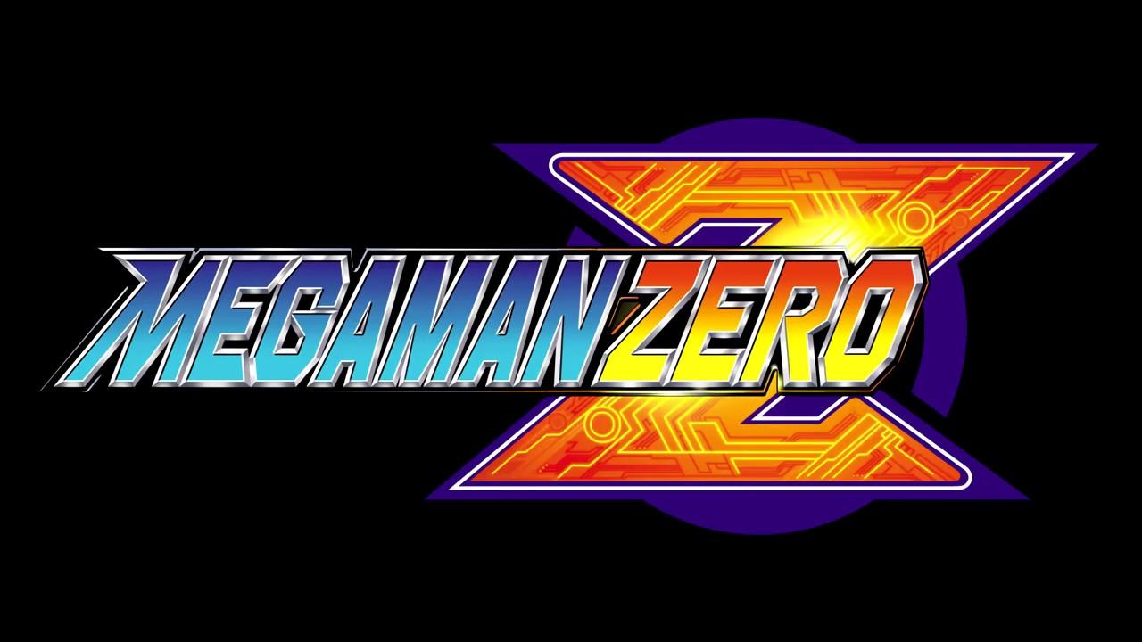 MEGAMAN ZERO Title Screen remade!