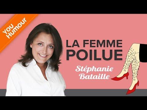 Stéphanie Bataille, la femme poilue !