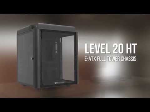 Thermaltake Chassis - The Level 20 HT Full Tower Chassis - The Legend Lives On